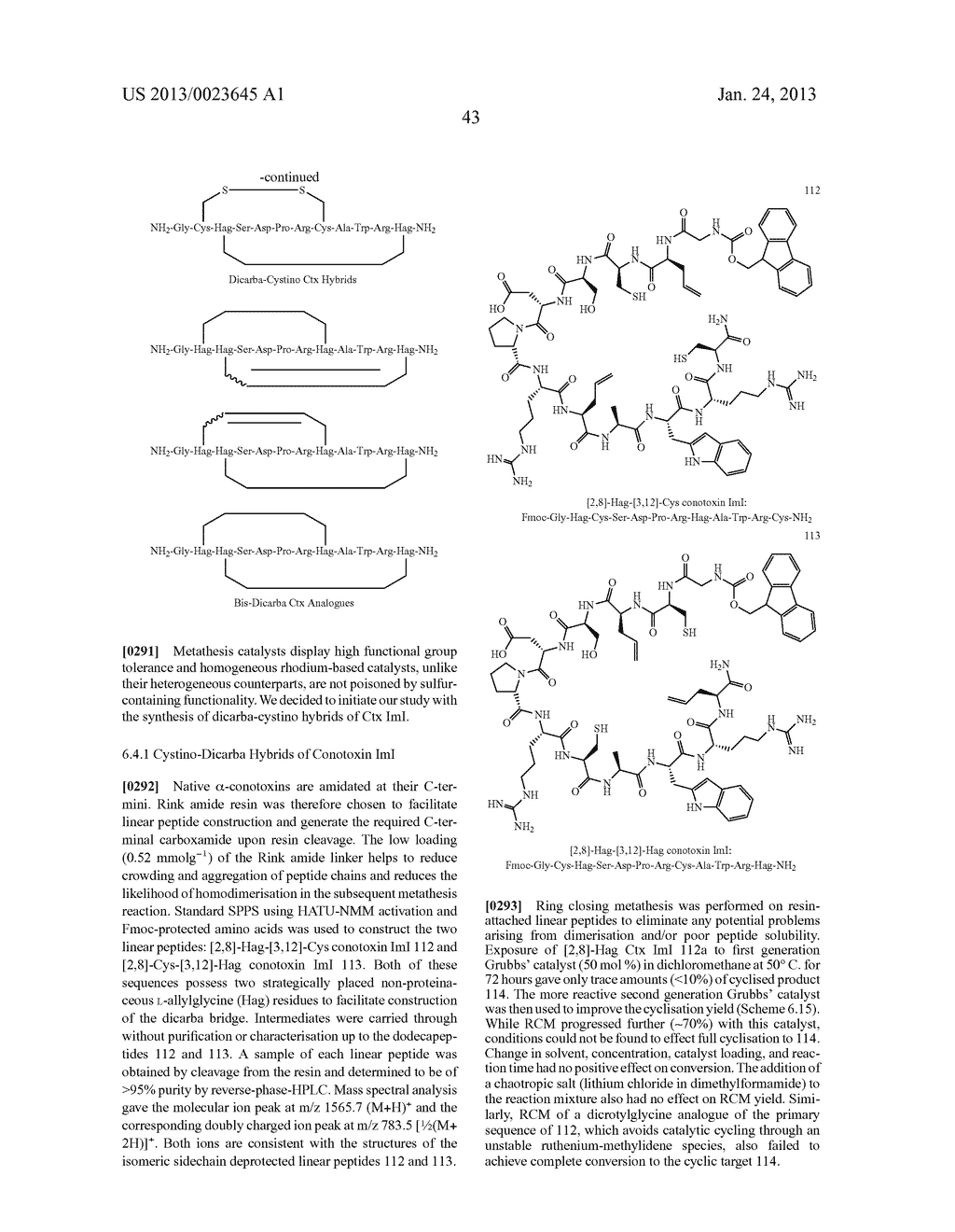 METHODS FOR THE SYNTHESIS OF DICARBA BRIDGES IN ORGANIC COMPOUNDS - diagram, schematic, and image 48