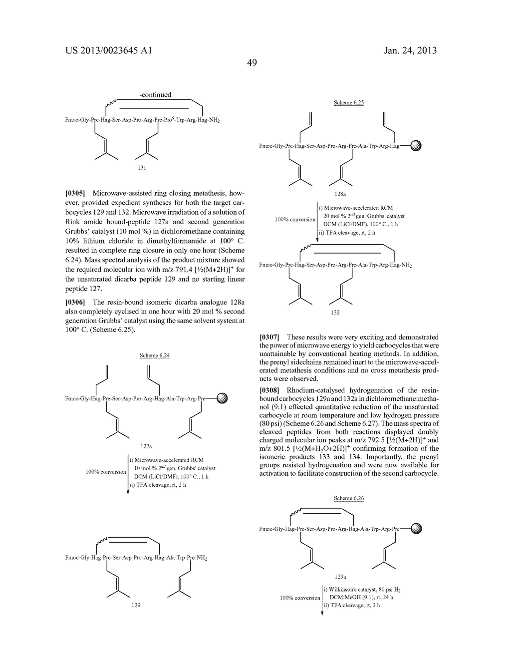 METHODS FOR THE SYNTHESIS OF DICARBA BRIDGES IN ORGANIC COMPOUNDS - diagram, schematic, and image 54
