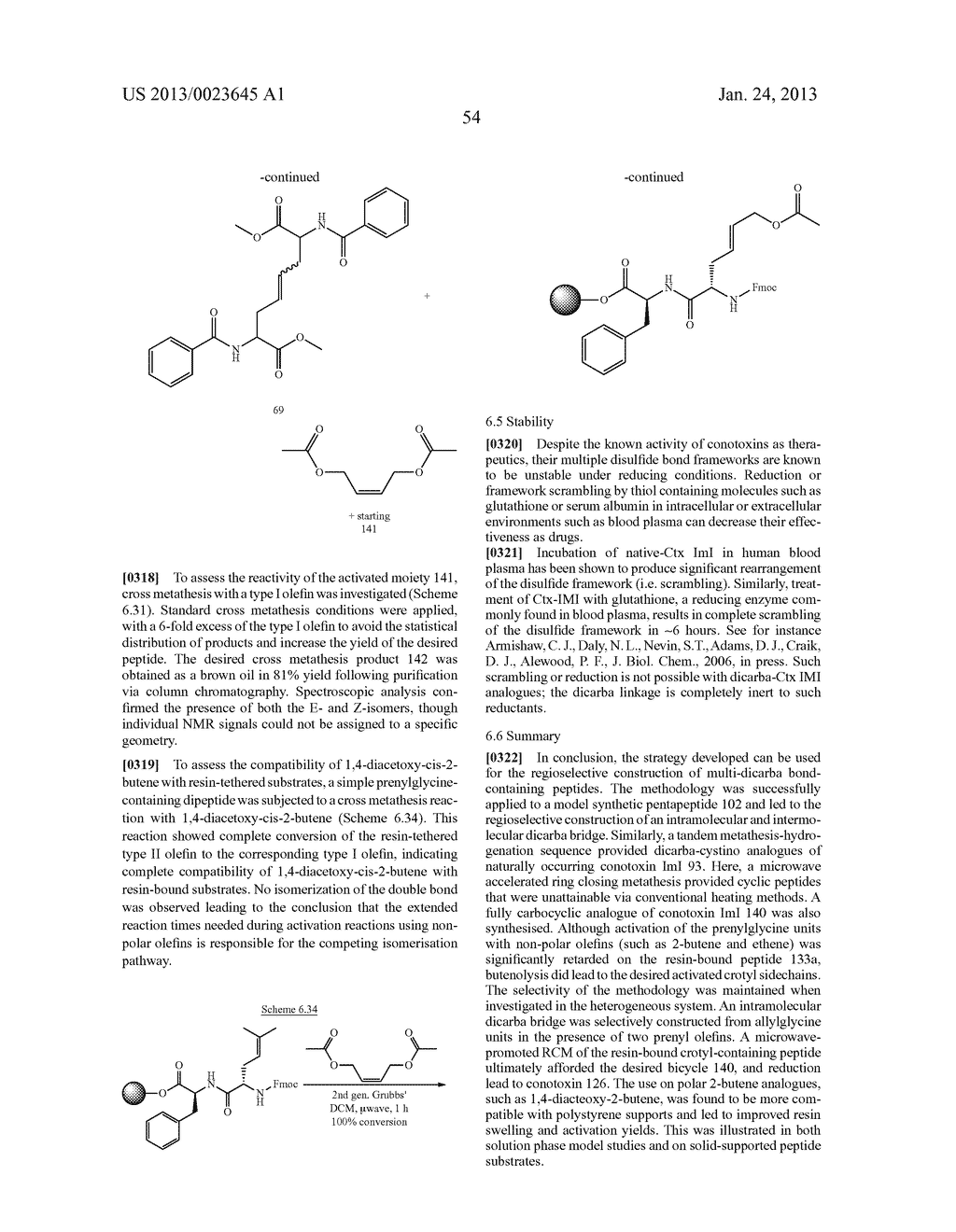 METHODS FOR THE SYNTHESIS OF DICARBA BRIDGES IN ORGANIC COMPOUNDS - diagram, schematic, and image 59