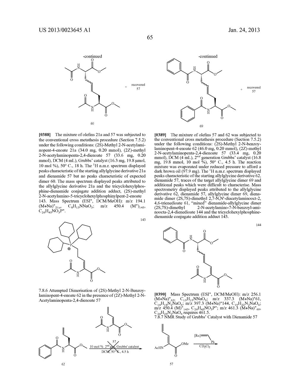 METHODS FOR THE SYNTHESIS OF DICARBA BRIDGES IN ORGANIC COMPOUNDS - diagram, schematic, and image 70