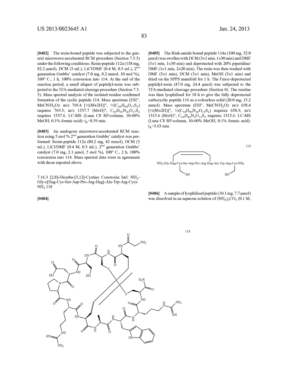METHODS FOR THE SYNTHESIS OF DICARBA BRIDGES IN ORGANIC COMPOUNDS - diagram, schematic, and image 88