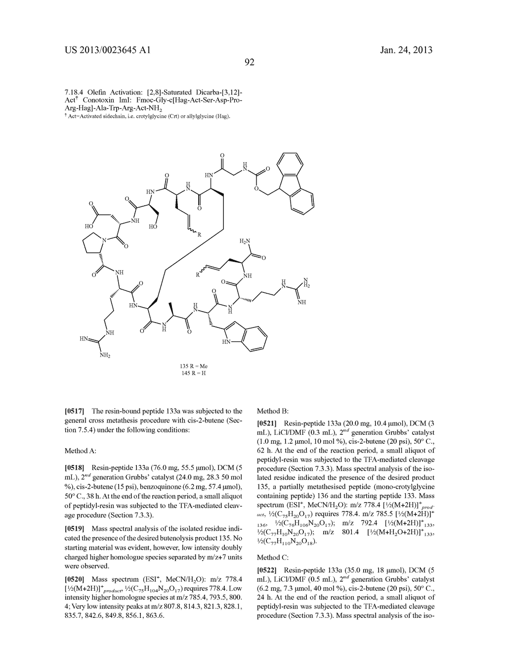 METHODS FOR THE SYNTHESIS OF DICARBA BRIDGES IN ORGANIC COMPOUNDS - diagram, schematic, and image 97