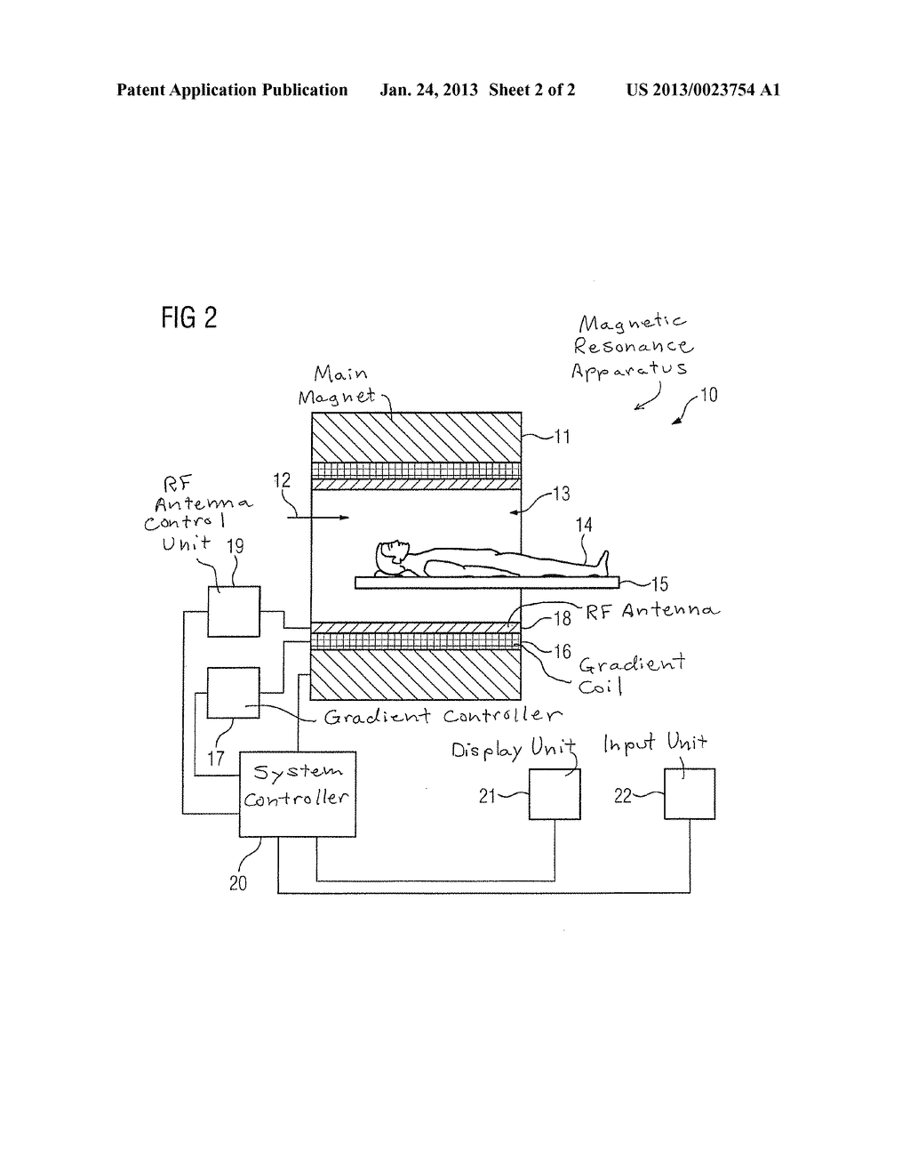 METHOD AND MAGNETIC RESONANCE APPARATUS FOR IMAGE DATA ACQUISITION - diagram, schematic, and image 03