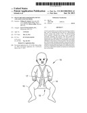 INFANT HIP JOINT POSITIONING DEVICE AND ASSOCIATED METHODS diagram and image
