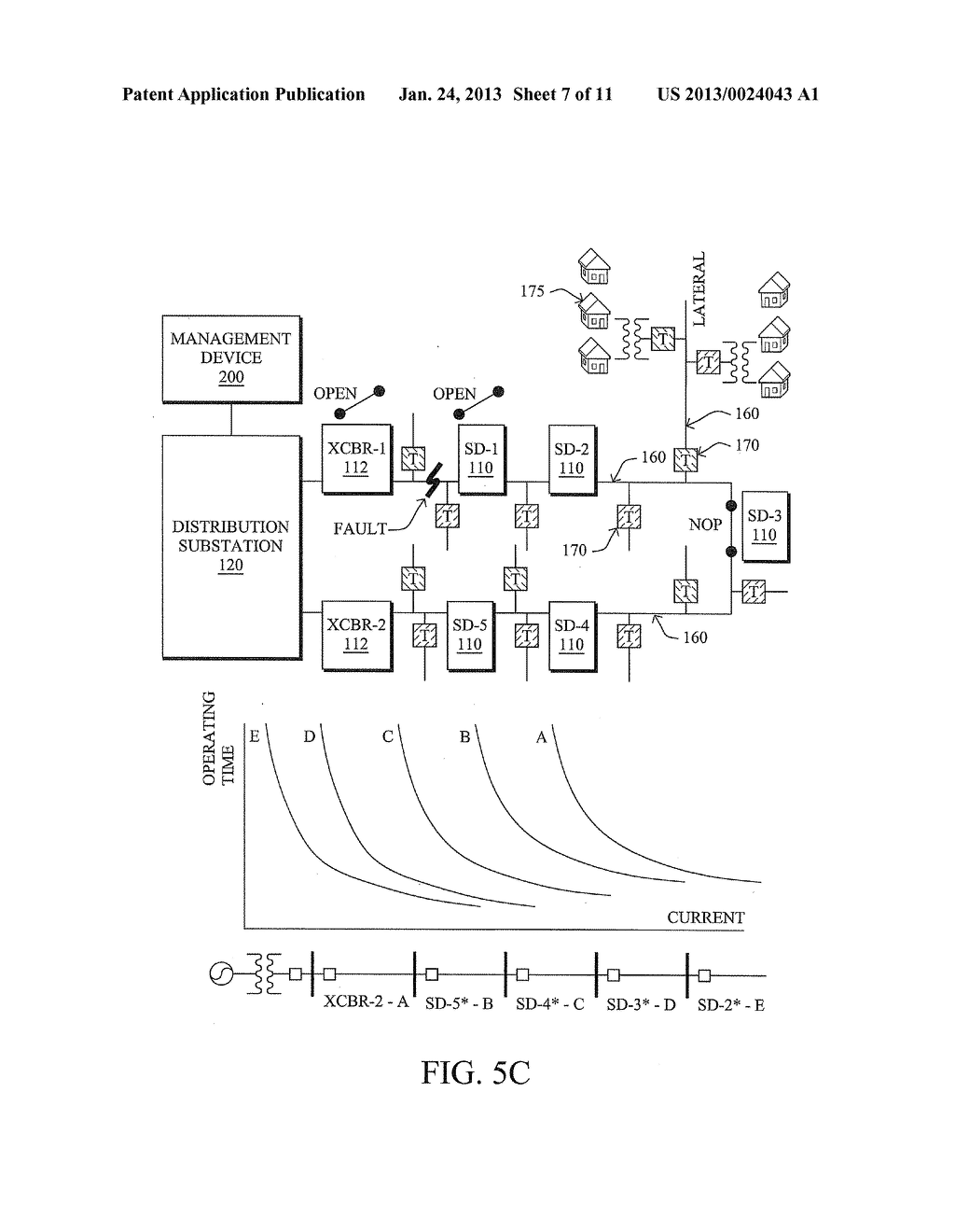 DYNAMIC CONFIGURATION OF DISTRIBUTION FEEDER PARAMETERS IN A POWER GRID - diagram, schematic, and image 08