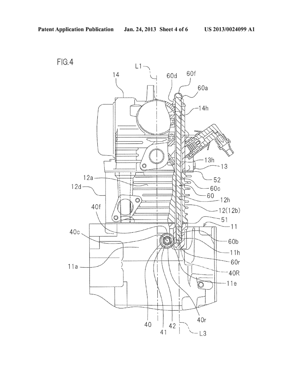 INTERNAL COMBUSTION ENGINE AND STRADDLE-TYPE VEHICLE EQUIPPED WITH THE     ENGINE - diagram, schematic, and image 05