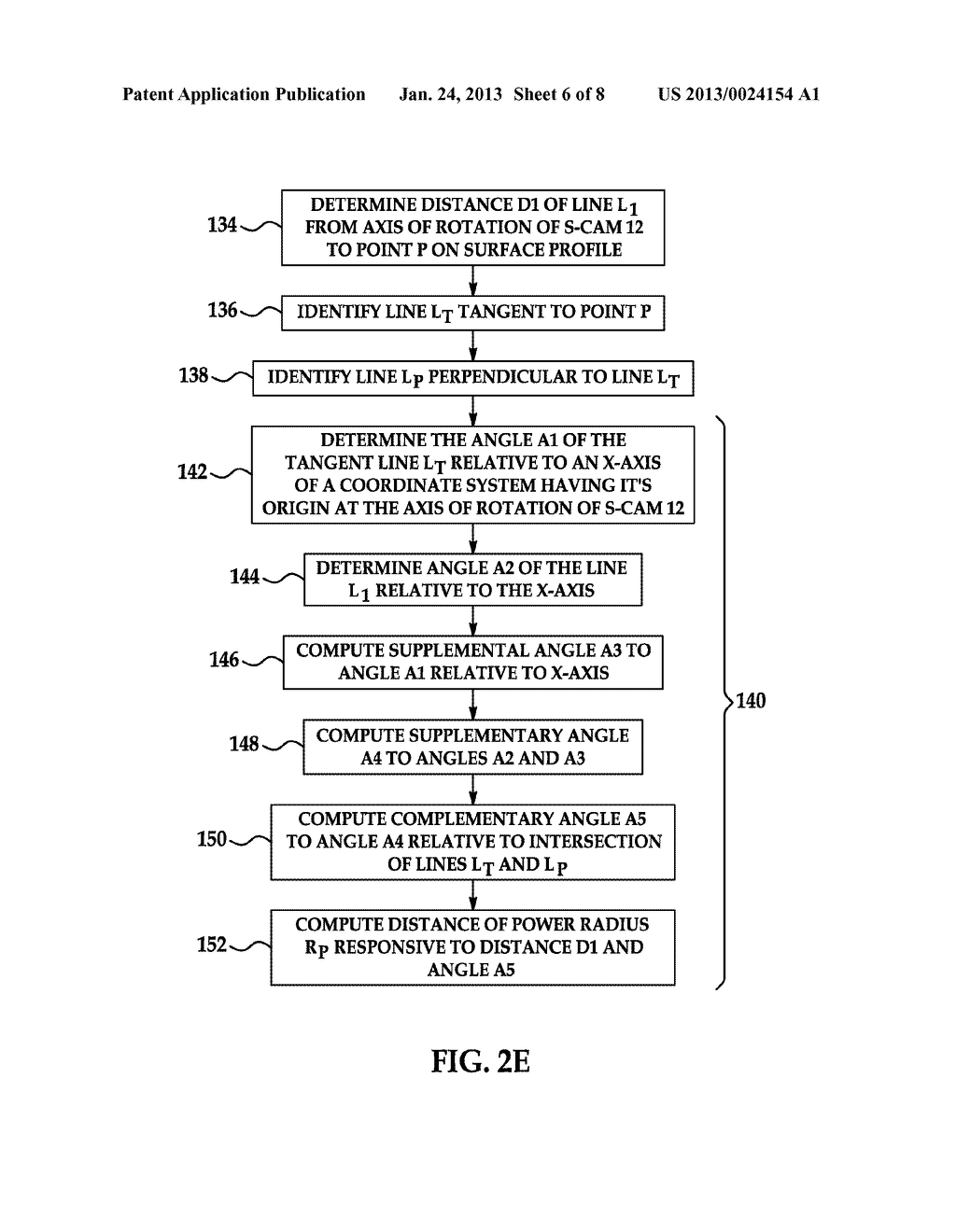 Method and System for Evaluating Characteristics of an S-cam - diagram, schematic, and image 07