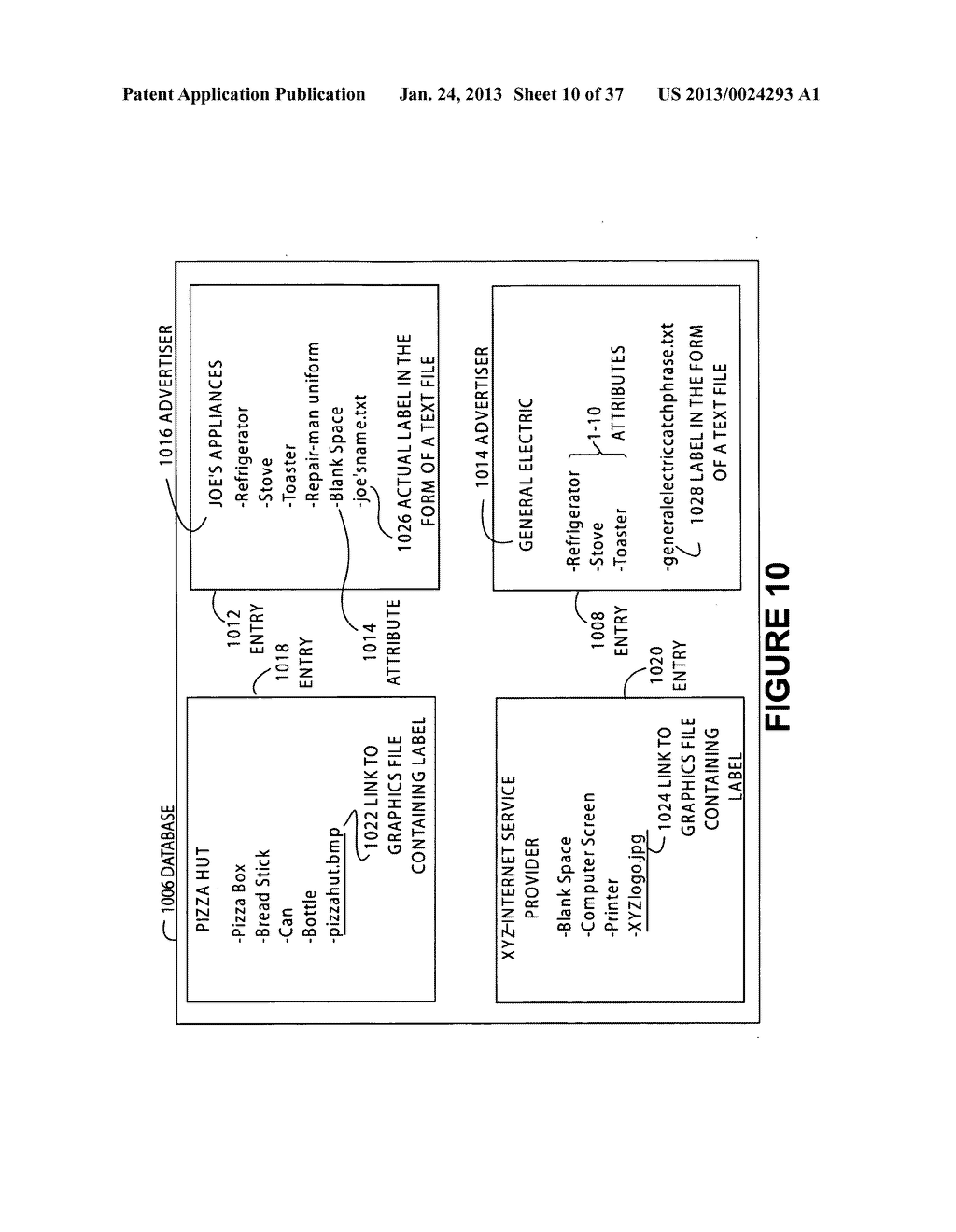 SYSTEM AND METHOD FOR OFFERING AND BILLING ADVERTISEMENT OPPORTUNITIES - diagram, schematic, and image 11