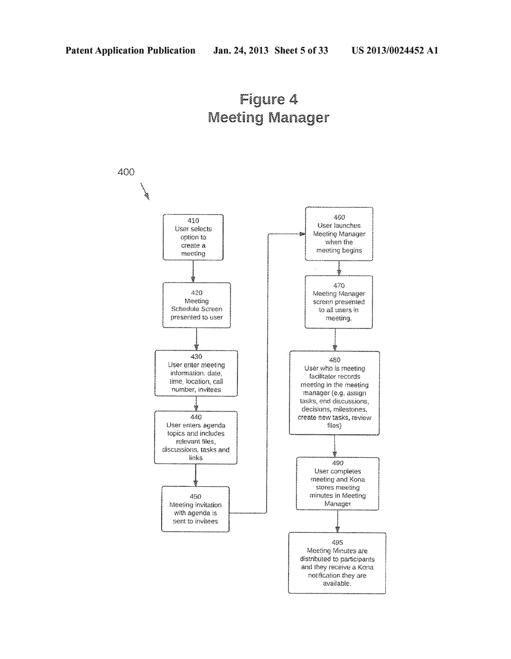 SYSTEM AND METHOD FOR MANAGING PROJECTS - diagram, schematic, and image 06