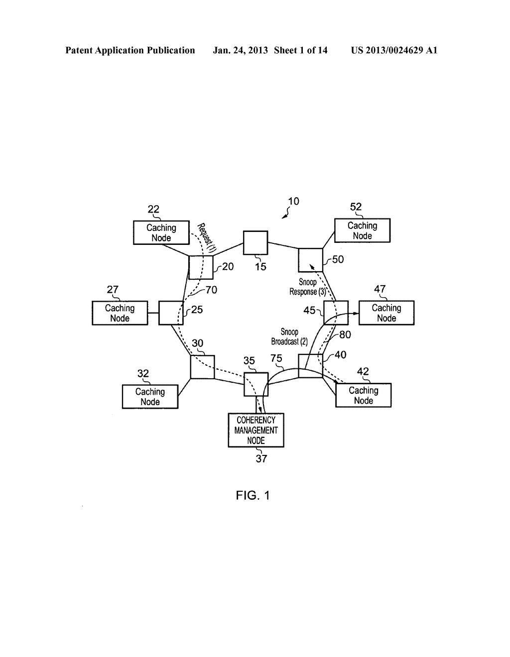 Data processing apparatus and method for managing coherency of cached data - diagram, schematic, and image 02