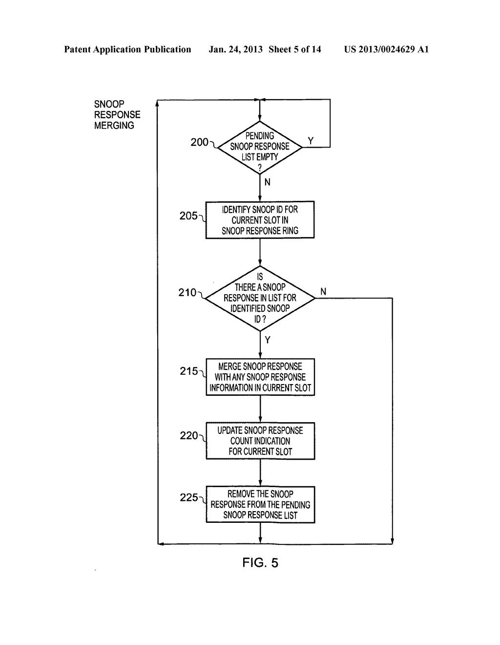 Data processing apparatus and method for managing coherency of cached data - diagram, schematic, and image 06