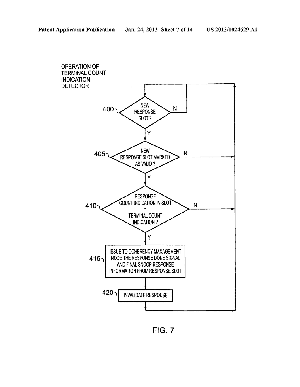 Data processing apparatus and method for managing coherency of cached data - diagram, schematic, and image 08