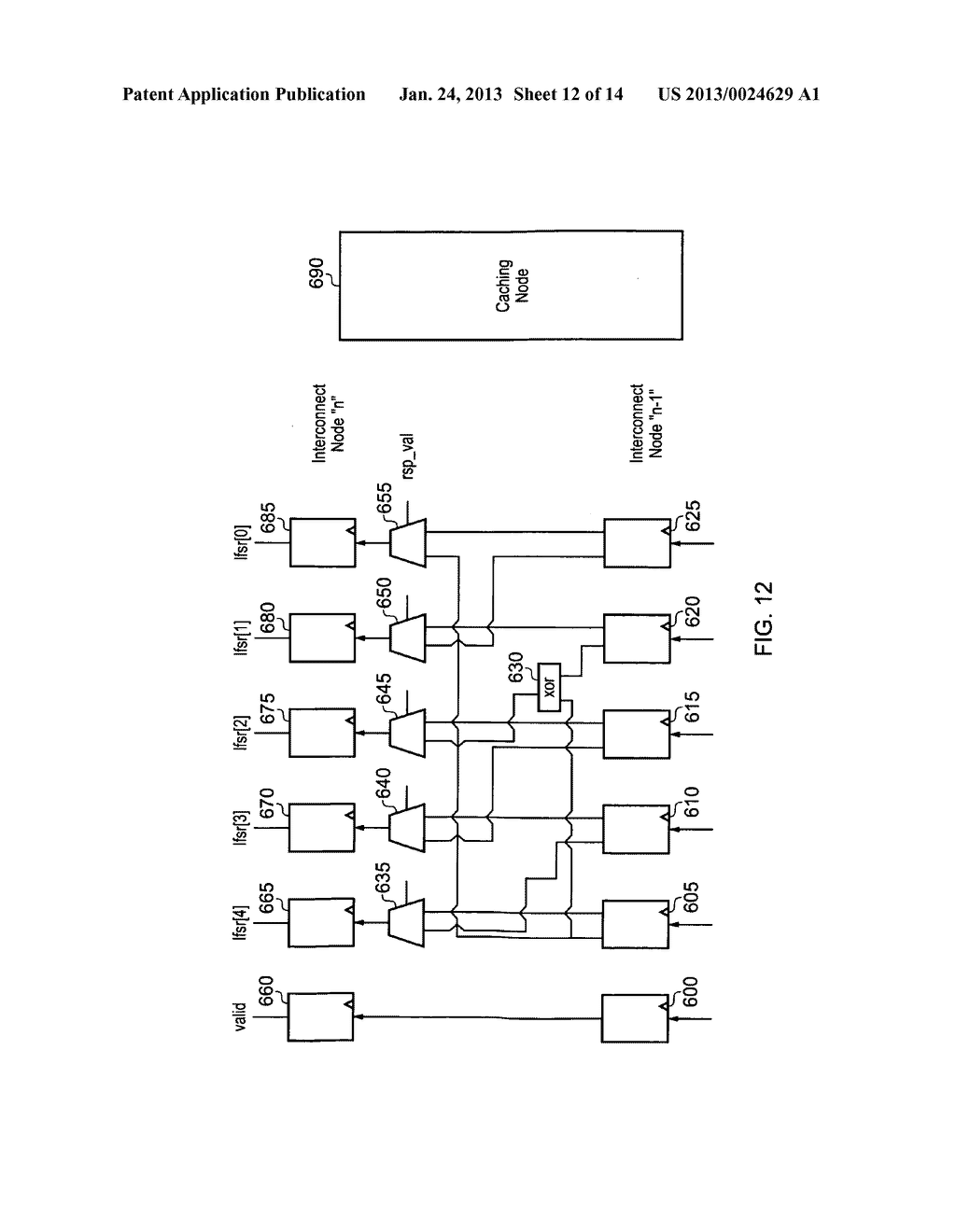 Data processing apparatus and method for managing coherency of cached data - diagram, schematic, and image 13