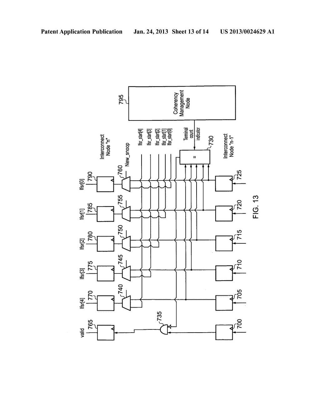 Data processing apparatus and method for managing coherency of cached data - diagram, schematic, and image 14