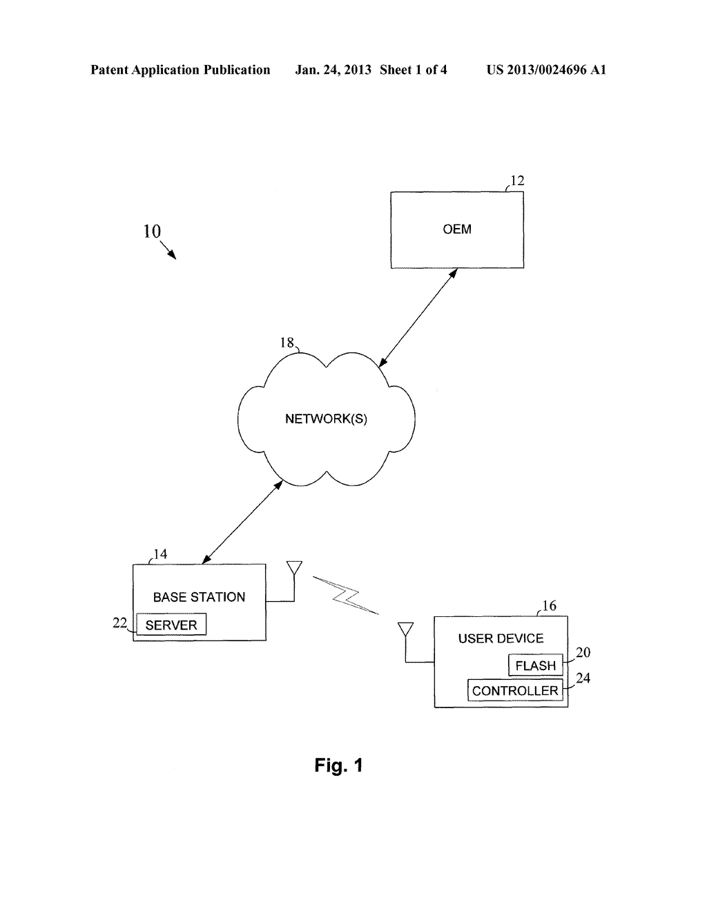 METHOD AND APPARATUS FOR FLASH UPDATES WITH SECURE FLASH - diagram, schematic, and image 02