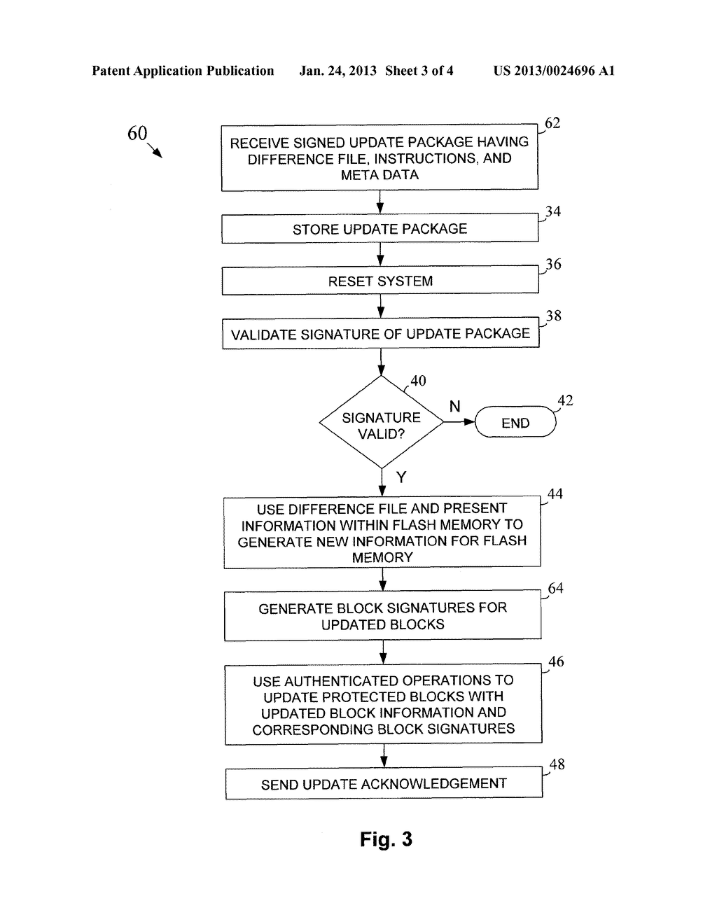 METHOD AND APPARATUS FOR FLASH UPDATES WITH SECURE FLASH - diagram, schematic, and image 04