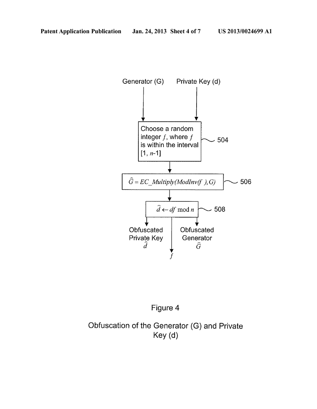 System and Method for Protecting Cryptographic Assets From a White-Box     Attack - diagram, schematic, and image 05