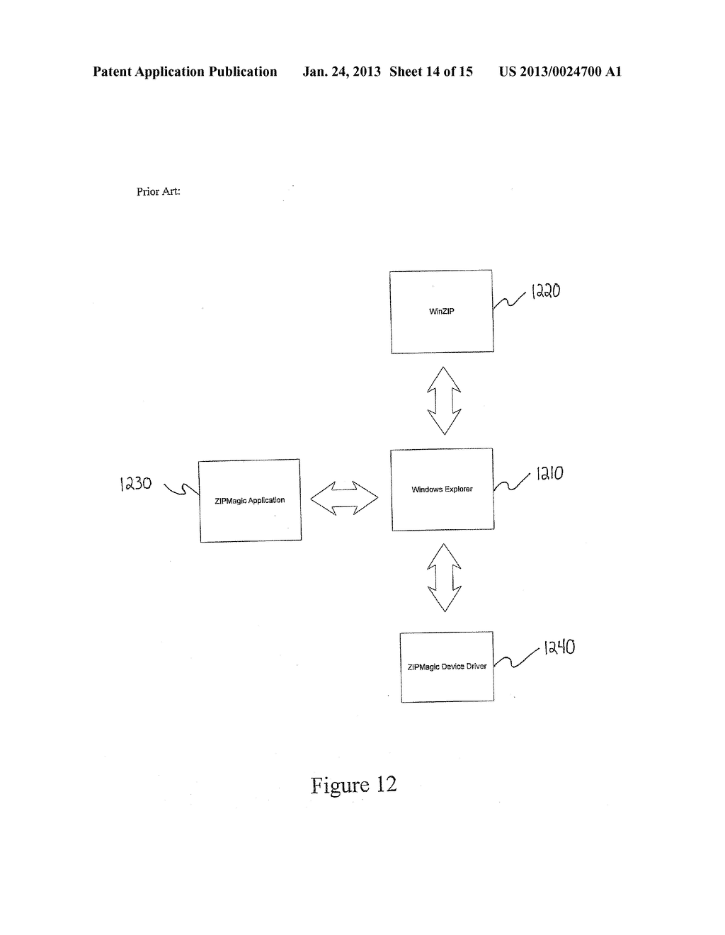 SYSTEM AND METHOD FOR MANIPULATING AND MANAGING COMPUTER ARCHIVE FILES - diagram, schematic, and image 15