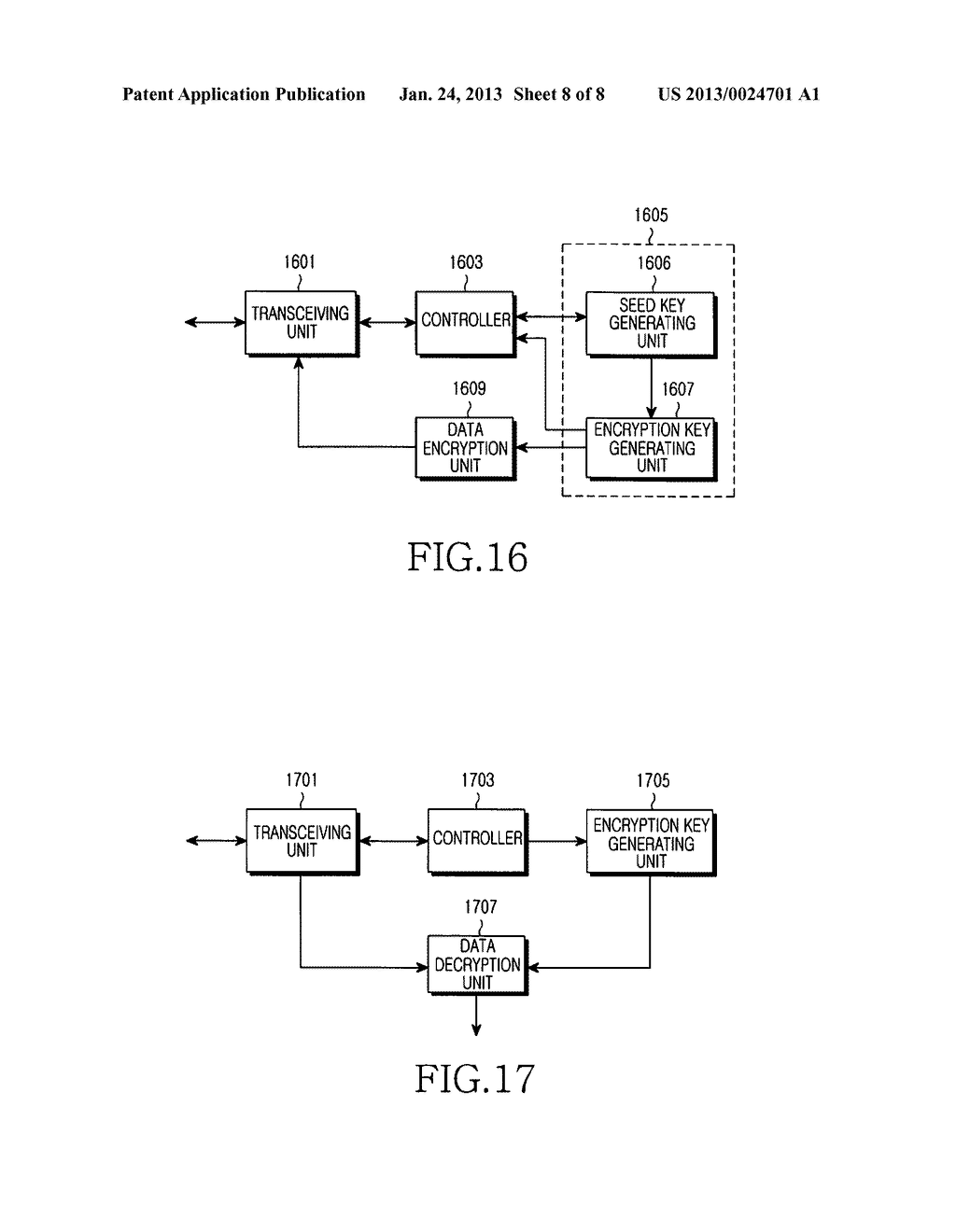 METHOD AND SYSTEM FOR MANAGING AN ENCRYPTION KEY FOR A BROADCASTING     SERVICE - diagram, schematic, and image 09