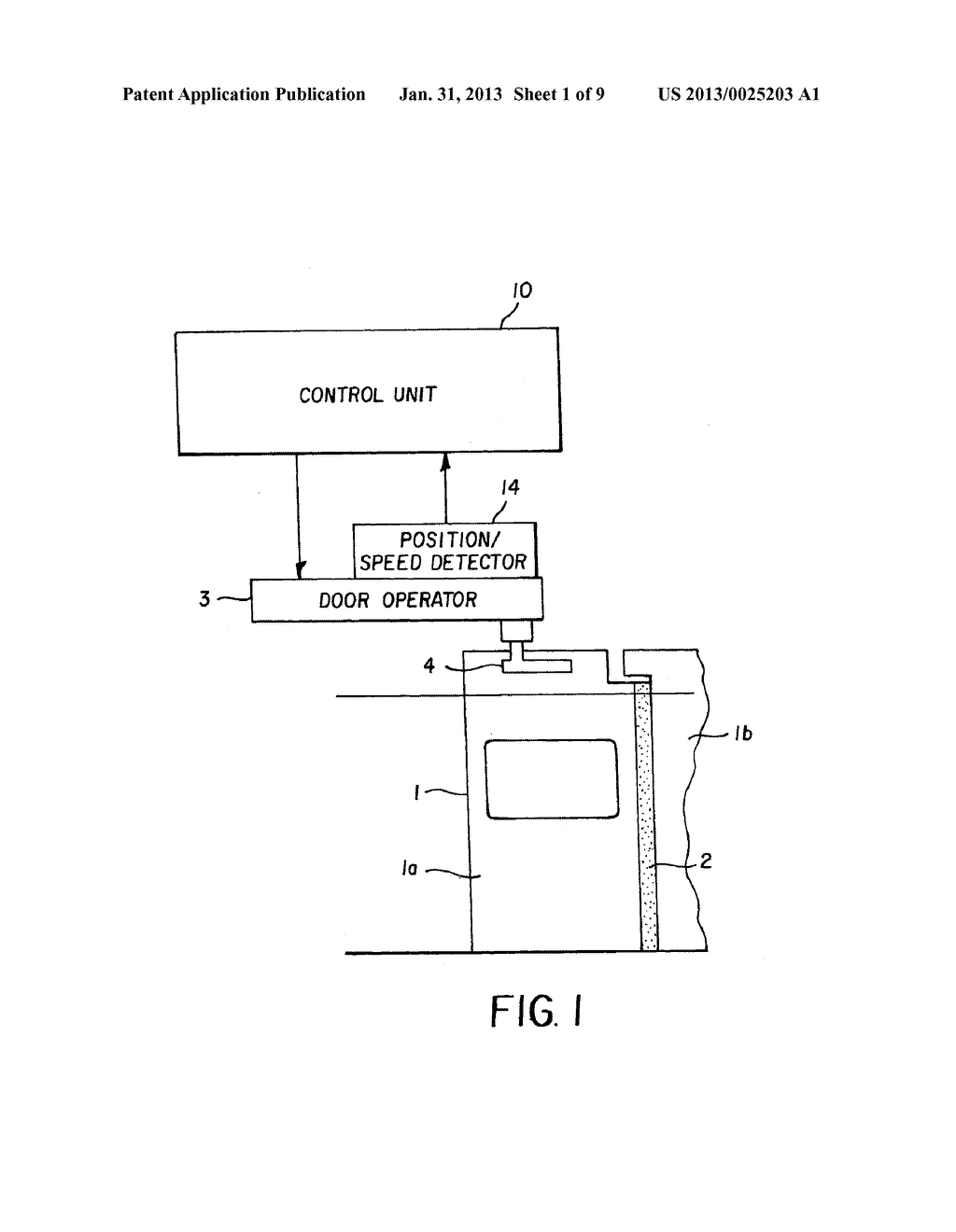 CONTROL DEVICE FOR ELECTRICALLY DRIVEN DOOR - diagram, schematic, and image 02