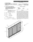 GLASS-ENCLOSED CHAMBER AND INTERNAL VENETIAN BLIND HAVING SLATS OF     IMPROVED REFLECTANCE AND DIFFUSIVITY OVER A WIDER SPECTRAL INTERVAL OF     INCIDENT SOLAR RADIATION diagram and image