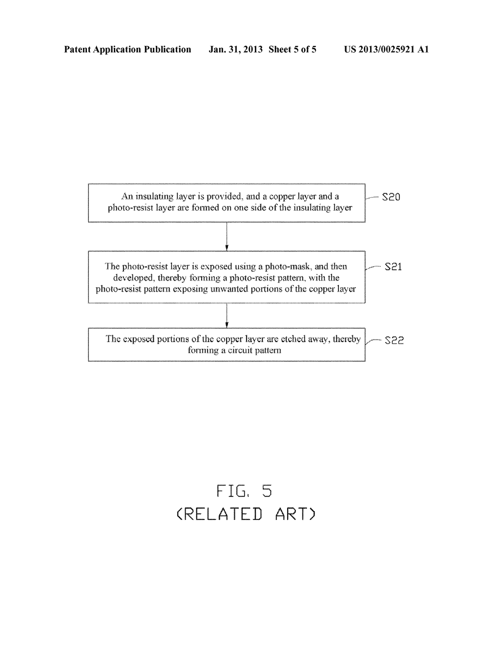 METHOD FOR MANUFACTURING CIRCUIT BOARD USING ELECTRICALLY CONDUCTIVE     PARTICLES AND CIRCUIT BOARD MANUFACTURED BY THE METHOD - diagram, schematic, and image 06