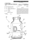 BOTTLE WITH PEELABLE LABEL diagram and image