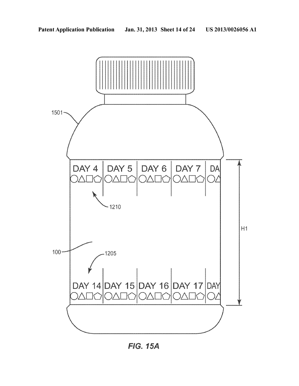 COMPLIANCE AID LABELING FOR MEDICATION CONTAINERS - diagram, schematic, and image 15
