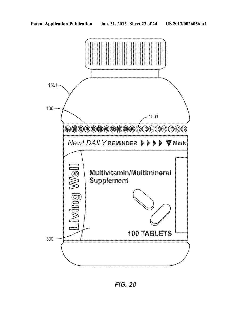COMPLIANCE AID LABELING FOR MEDICATION CONTAINERS - diagram, schematic, and image 24