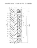 NONVOLATILE SEMICONDUCTOR MEMORY DEVICE INCLUDING MEMORY CELLS FORMED TO     HAVE DOUBLE-LAYERED GATE ELECTRODES diagram and image