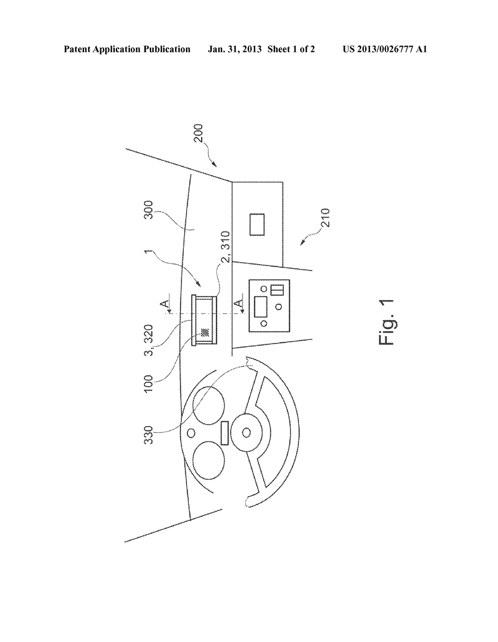 HOLDING DEVICE FOR FIXING A PORTABLE DRIVER INFORMATION UNIT IN THE     INTERIOR OF A MOTOR VEHICLE - diagram, schematic, and image 02