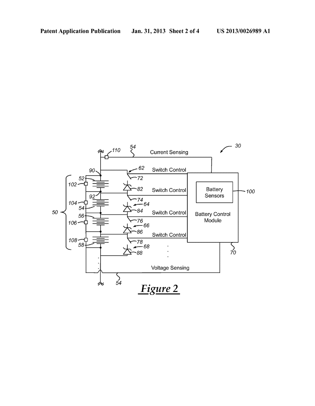 VEHICLE BATTERY AND METHOD OF CHARGING THE SAME - diagram, schematic, and image 03