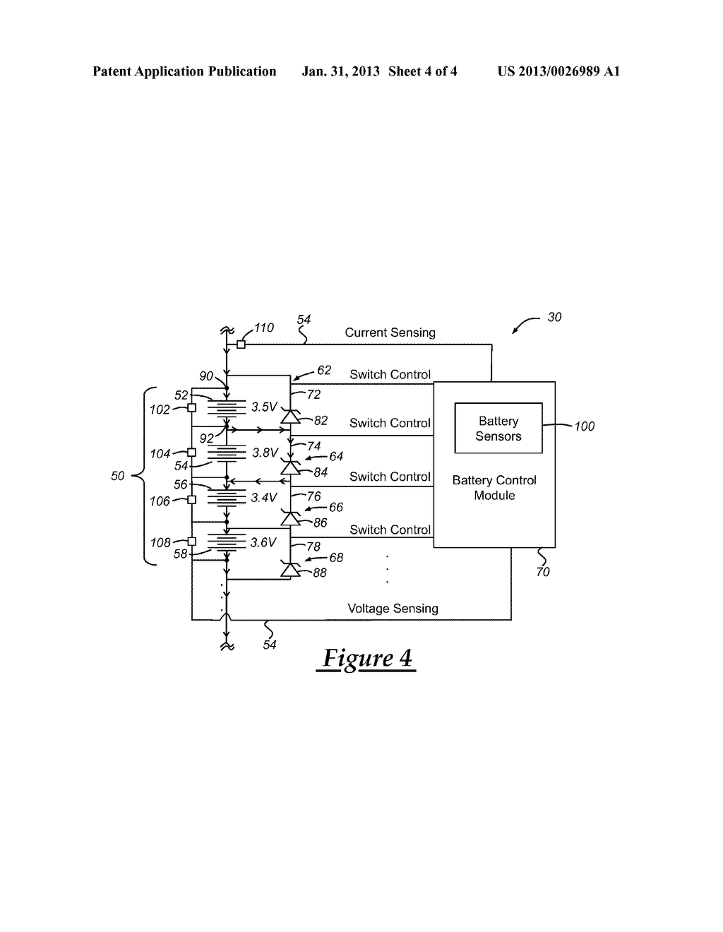 VEHICLE BATTERY AND METHOD OF CHARGING THE SAME - diagram, schematic, and image 05