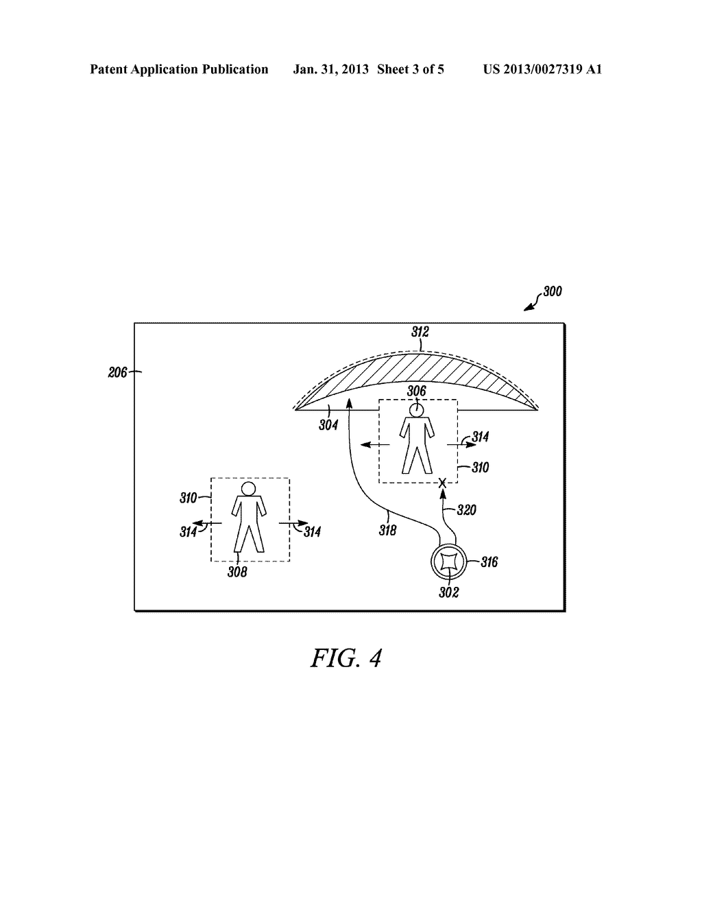 USER INTERFACE AND METHOD FOR MANAGING A USER INTERFACE STATE BETWEEN A     LOCKED STATE AND AN UNLOCKED STATE - diagram, schematic, and image 04