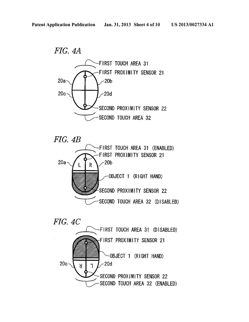 INFORMATION INPUT DEVICE, INFORMATION INPUT DEVICE CONTROL METHOD, AND     COMPUTER READABLE MEDIUM - diagram, schematic, and image 05