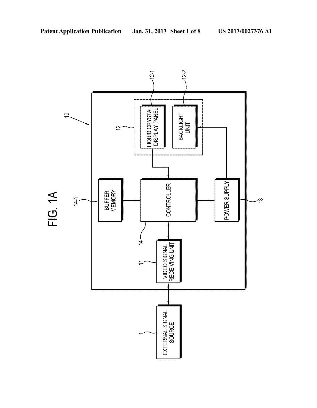 3-DIMENSIONAL IMAGE DISPLAY APPARATUS AND CONTROL METHOD OF THE SAME - diagram, schematic, and image 02
