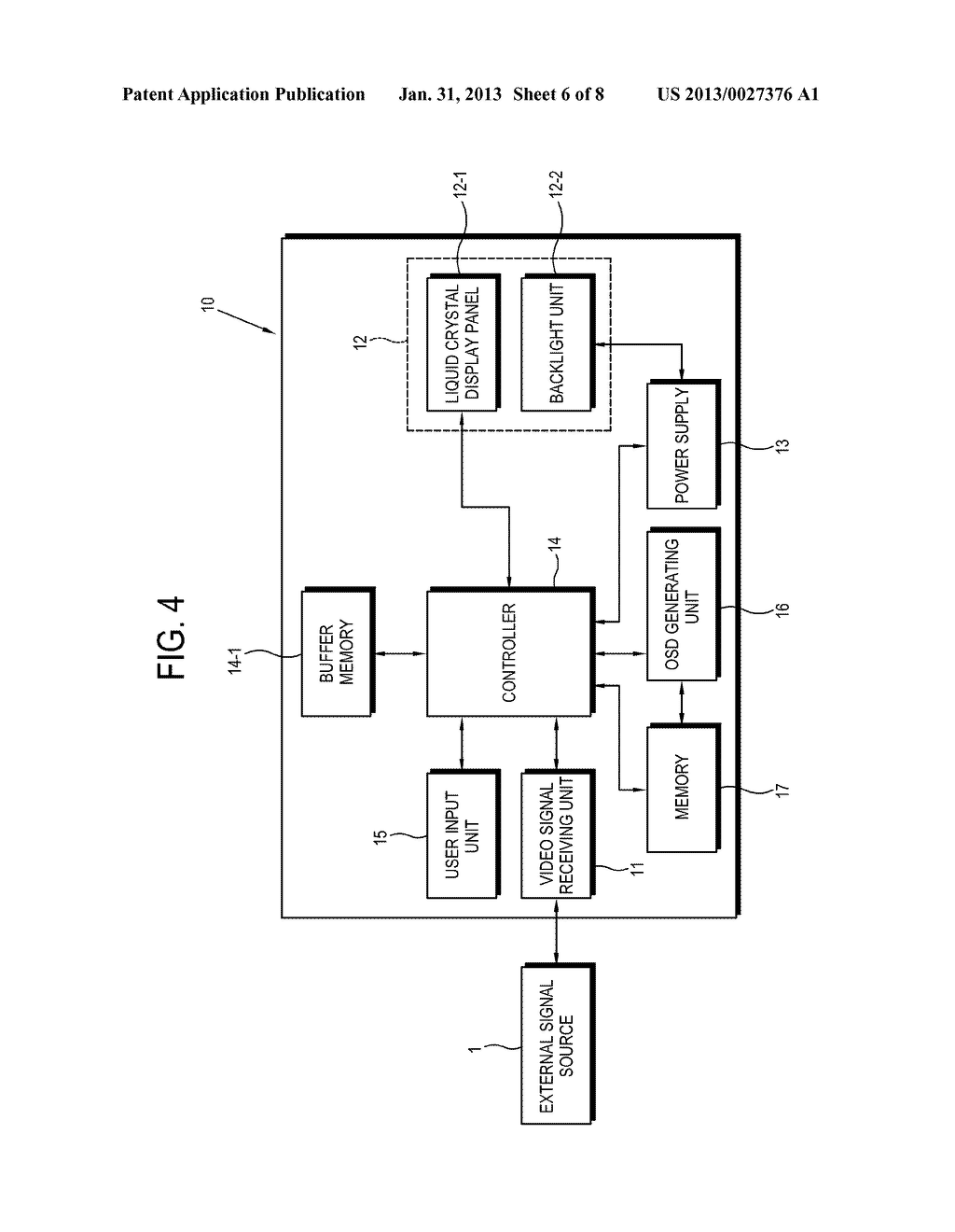 3-DIMENSIONAL IMAGE DISPLAY APPARATUS AND CONTROL METHOD OF THE SAME - diagram, schematic, and image 07