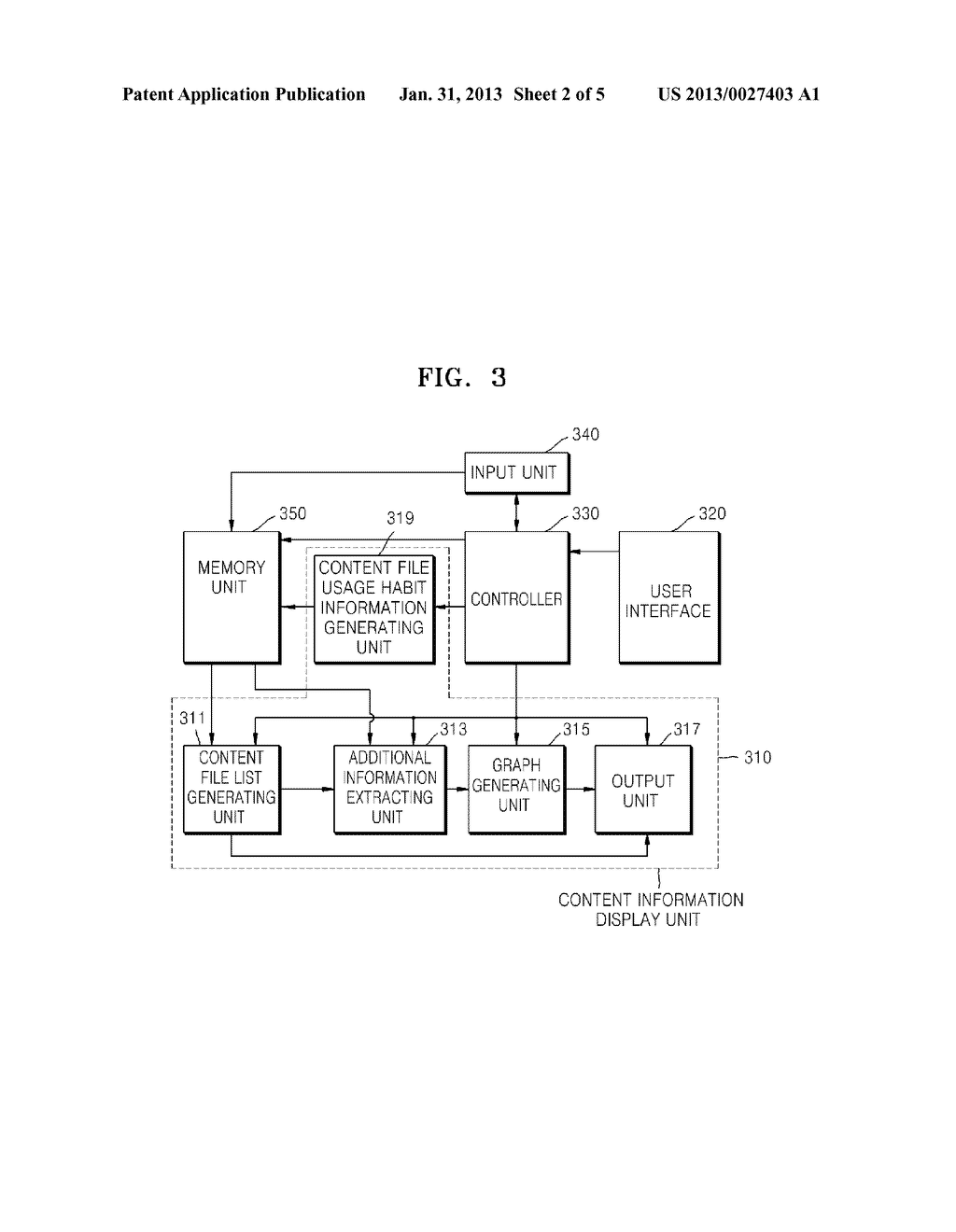 CONTENT INFORMATION DISPLAY METHOD AND APPARATUS - diagram, schematic, and image 03
