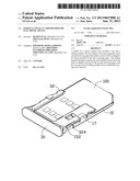 SURFACE CONTACT CARD HOLDER FOR ELECTRONIC DEVICE diagram and image
