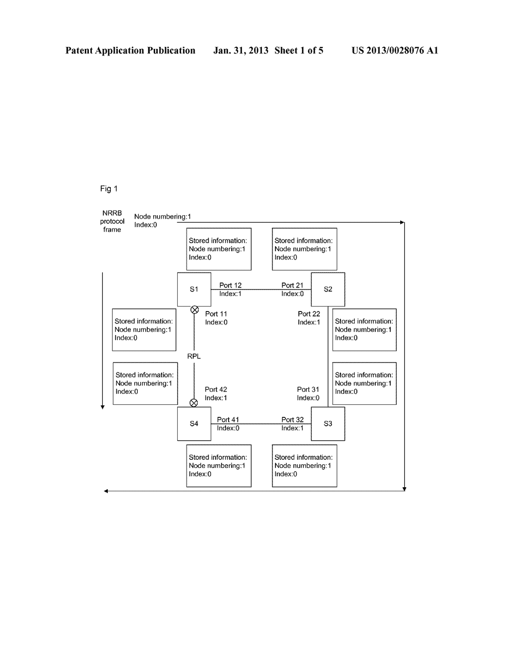 Method and Device for Preventing Repeated Refreshing of Address Table of     Ethernet Ring Network Node - diagram, schematic, and image 02