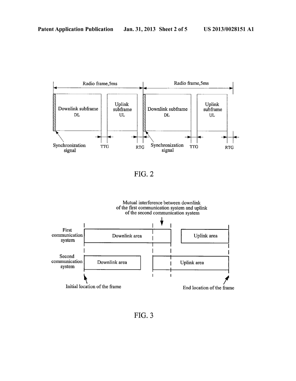 METHOD AND SYSTEM FOR PHYSICAL RESOURCES CONFIGURATION AND SIGNAL     TRANSMISSION WHEN COMMUNICATION SYSTEMS COEXIST - diagram, schematic, and image 03