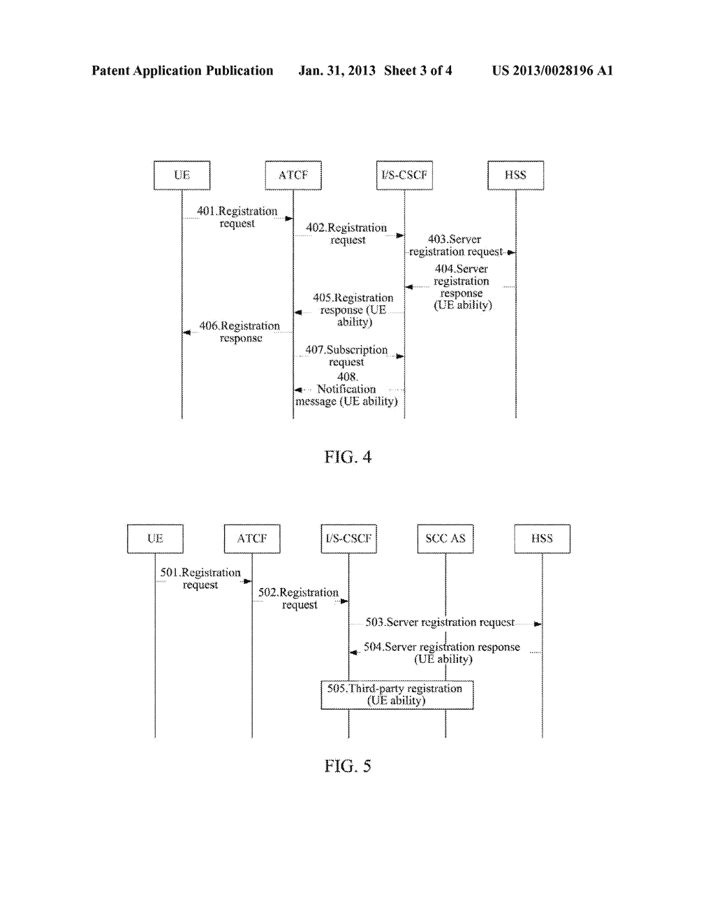 Method and System for Obtaining User Equipment Ability by User Equipment,     Home Subscriber Data Server and Core Network Element - diagram, schematic, and image 04