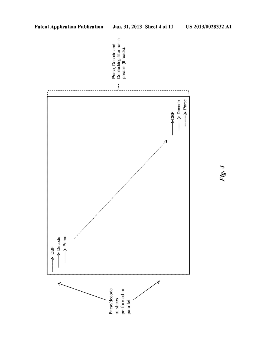 Method and device for parallel decoding of scalable bitstream elements - diagram, schematic, and image 05