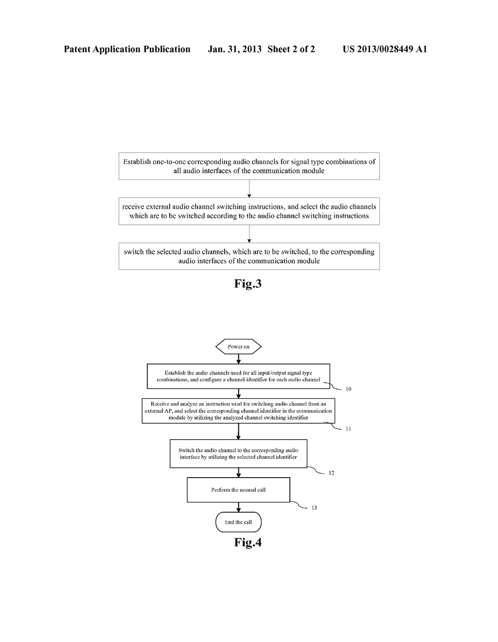 Method and Apparatus for Switching Audio Channels of Communication Module - diagram, schematic, and image 03