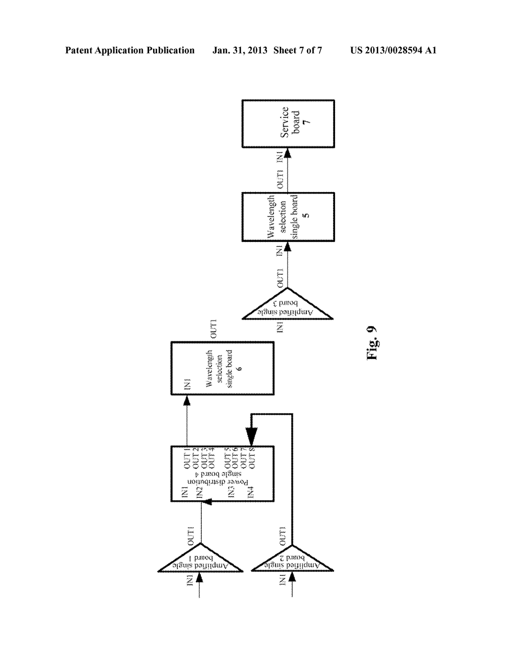 Method and System for Detecting Optical Fibre Connection - diagram, schematic, and image 08