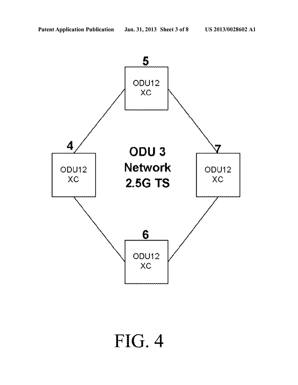 METHOD AND SYSTEM FOR ESTABLISHING END-TO-END SERVICE AND OPTICAL     TRANSPORT NETWORK - diagram, schematic, and image 04