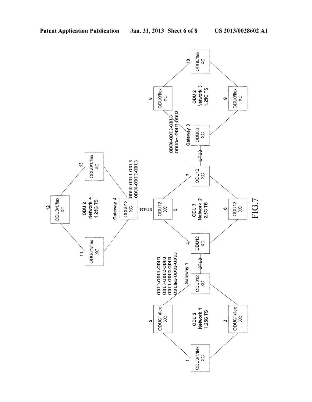 METHOD AND SYSTEM FOR ESTABLISHING END-TO-END SERVICE AND OPTICAL     TRANSPORT NETWORK - diagram, schematic, and image 07