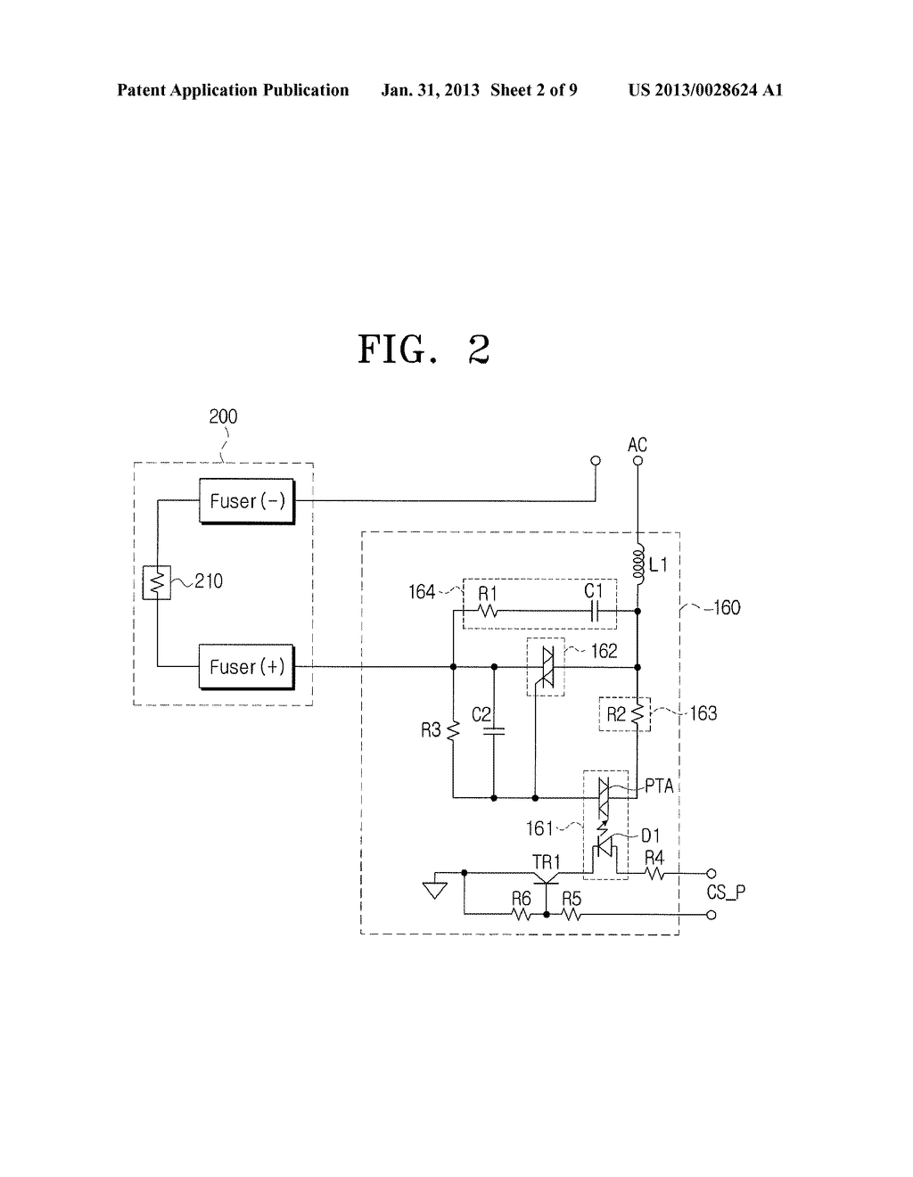 PHASE DETECTING DEVICE, PHASE CONTROL DEVICE INCLUDING THE PHASE DETECTING     DEVICE, AND FUSER CONTROL DEVICE INCLUDING THE PHASE CONTROL DEVICE - diagram, schematic, and image 03