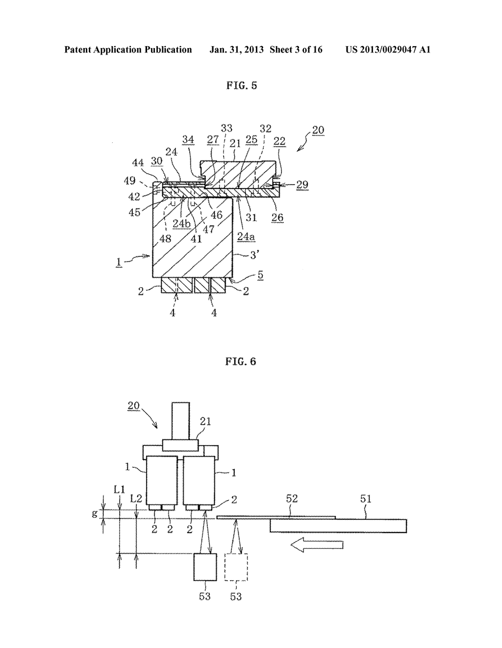 INKJET HEAD, METHOD OF DETECTING EJECTION ABNORMALITY OF THE INKJET HEAD,     AND METHOD OF FORMING FILM - diagram, schematic, and image 04