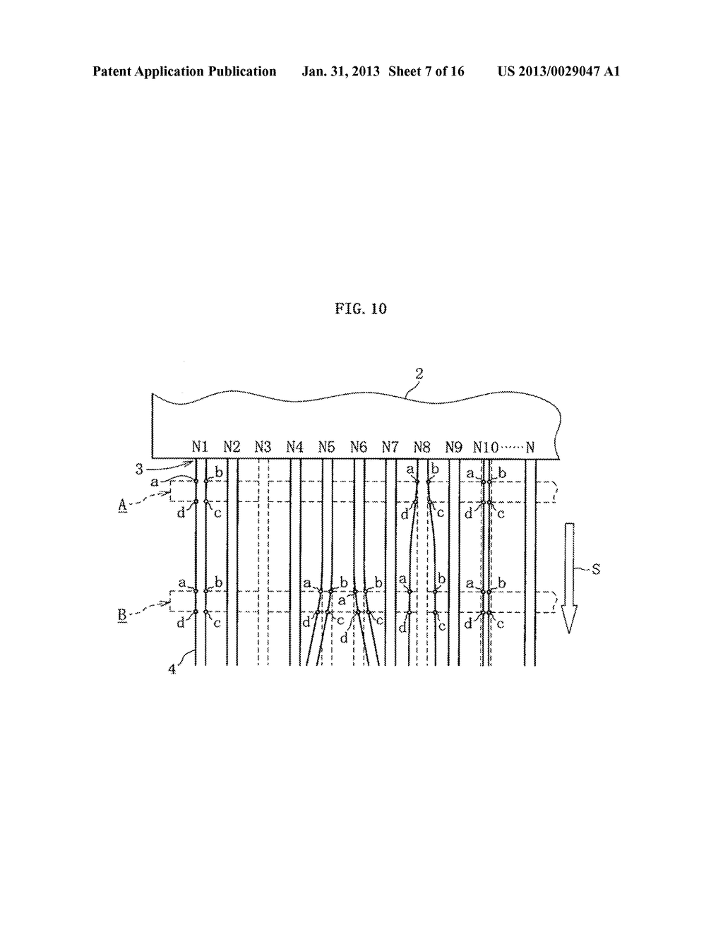 INKJET HEAD, METHOD OF DETECTING EJECTION ABNORMALITY OF THE INKJET HEAD,     AND METHOD OF FORMING FILM - diagram, schematic, and image 08